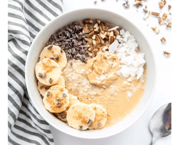 Μπανάνα smoothie bowl