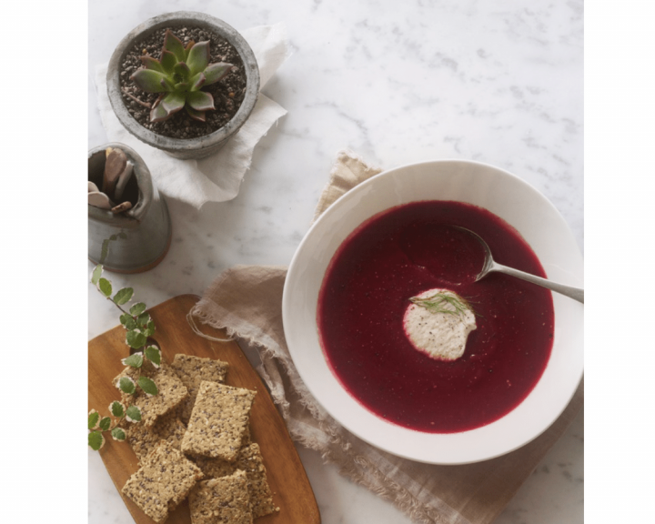 Σούπα με παντζάρι