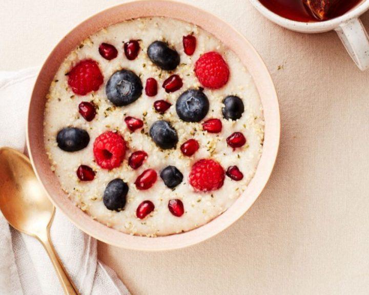 Porridge με μούρα