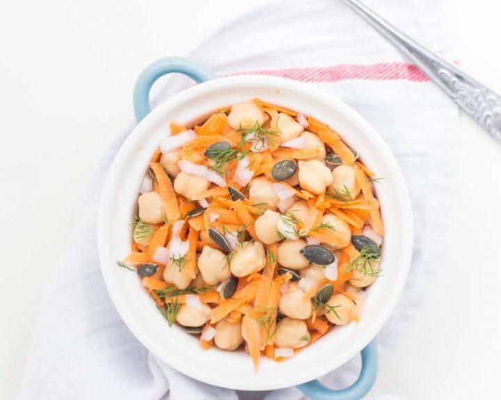 Πικάντικη σούπα με ρεβίθια
